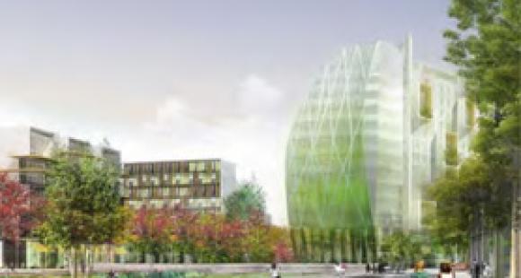 Future place du Front populaire (Aubervilliers)