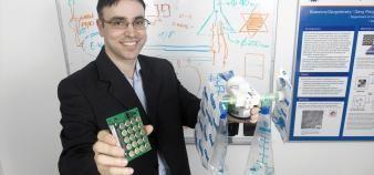 Hossam Haick, chercheur en nanotechnologies, a convaincu l'Institut Technion de miser sur son invention à un stade très précoce. //©Institut Technion