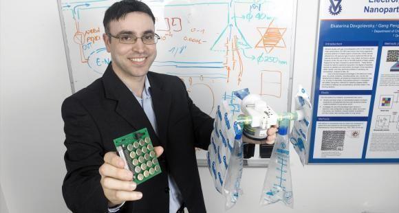 Hossam Haick, chercheur en nanotechnologies, a convaincu l'Institut Technion de miser sur son invention à un stade très précoce.