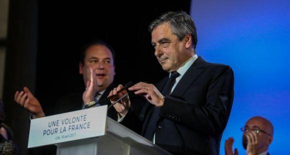 USAGE UNIQUE - François Fillon, candidat à l'élection présidentielle 2017
