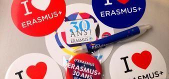 Plus de 16.000 étudiants stagiaires sont partis avec Erasmus+ en 2018. //©Etienne Gless