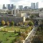 Université Nanterre - vue globale du campus © communication université  Paris Ouest Nanterre La Défense