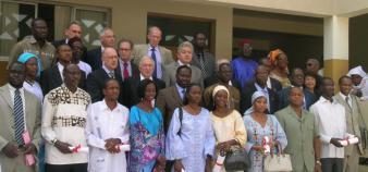 Cérémonie de remise de diplômes à Dakar