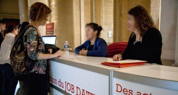 Forum Job dating à Marseille co-organisé par l'université.