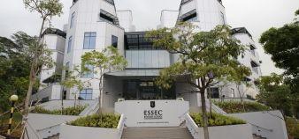 L'Essec conserve sa troisième place dans le classement des masters en management du FT. Le quotidien salue l'internationalisation des cursus français. //©ESSEC