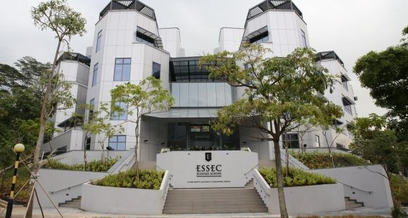 Essec Asia Pacifique à Singapour. // © ESSEC