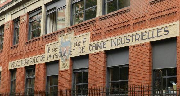 La rénovation de l'ESPCI, École supérieure de physique et de chimie industrielles, priorité du budget de la Ville de Paris.