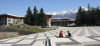 Le campus de l'université Joseph Fourier à Grenoble @service com UJF-Grenoble