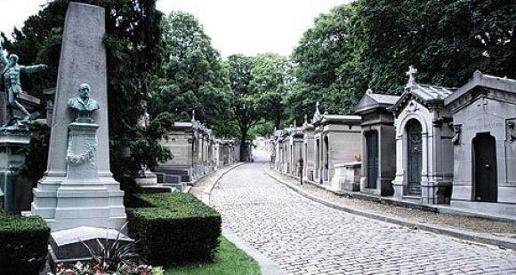 Le cimetière du Lère-Lachaise à Paris // DR