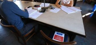 Le respect des règles sanitaires, dont le port du masque obligatoire dans les bibliothèques, sera primordial pour la réussite de la rentrée universitaire. //©Fred MARVAUX/REA