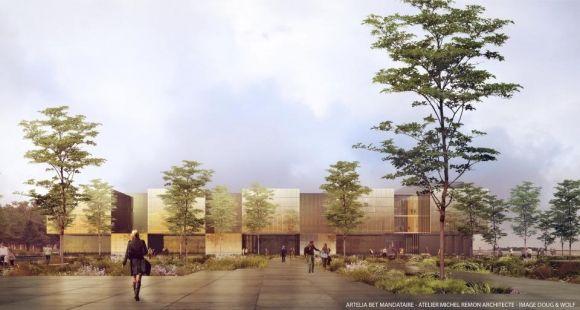 Le futur Centre de nanosciences et nanotechnologies © Michel Rémon Architecte