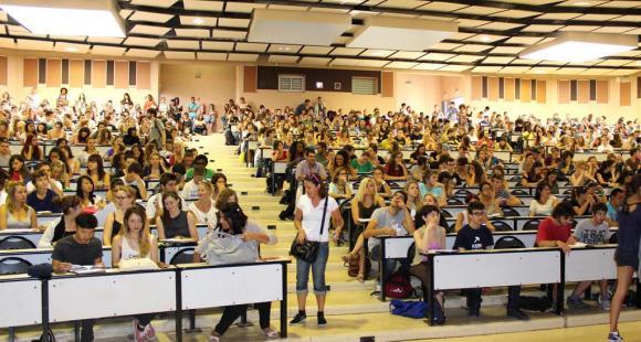 Université Montpellier 3 (Rentrée 2013) - ©Service communication Paul-Valéry Montpellier 3