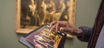 Le projet ANR Visuall analyse la réception des oeuvres d'art, via une application,