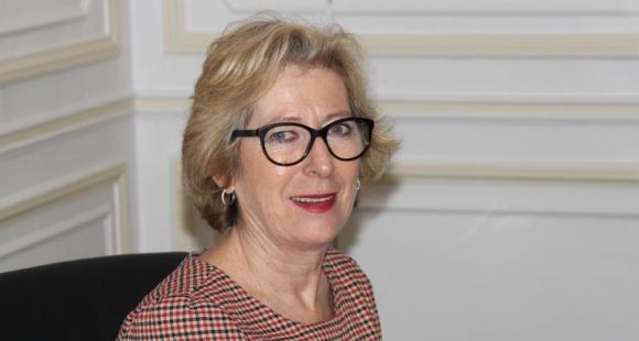 Geneviève Fioraso, secrétaire d'État à l'Enseignement supérieur et à la Recherche
