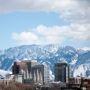 Silicon Slopes est le surnom donné à Salt Lake City, en référence à la Silicon Valley et aux montagnes qui l'entourent. //©Econ5470-90/Wikimedia