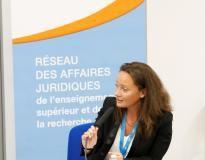Delphine Gassiot-Casalas, directrice des services juridiques de l'université de Bordeaux et présidente de Jurisup //©Delphine GASSIOT CASALAS