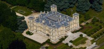 L'école portée par Khalil Khater sera installée au château de Ferrières, en Seine-et-Marne, à 25 km de Paris //©École Ferrieres