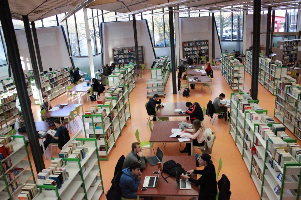 Bibliothèque de l'université de Rouen //©Delphine Dauvergne
