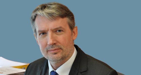 Pierre Sineux, président de l'université de Caen