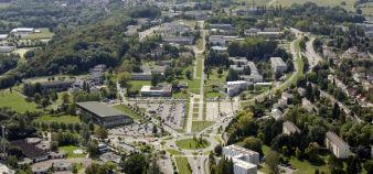 Université de Haute-Alsace - Vue aérienne du campus Illberg // DR