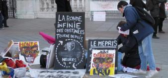 La ronde parisienne, le 31 mars 2009.