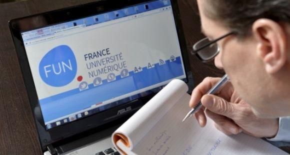 Le portail France Université numérique / ©LANIER/REA