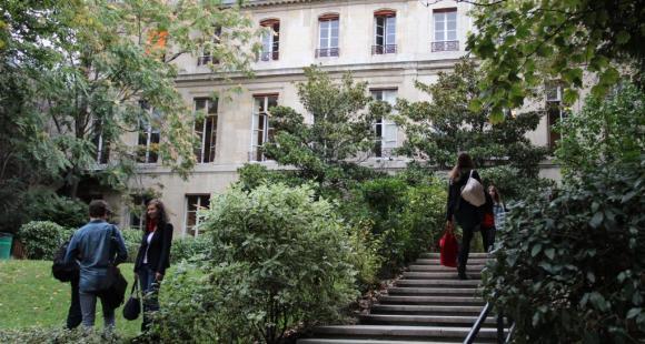 Sciences po Paris - Jardins - Rue Saint-Guillaume - octobre 2012 - ©C.Stromboni