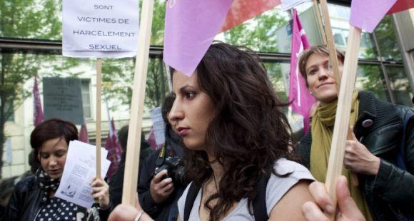 Manifestation contre le harcèlement sexuel