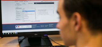 Connaissance du rang de classement, quotas de boursiers... Le ministère de l'Enseignement supérieur procède aux derniers ajustements de Parcoursup avant le 22 mai. //©Frédéric Maigrot / REA