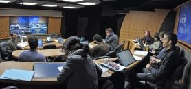 Une salle immersive de l'UEB C@mpus // ©Télécom Bretagne