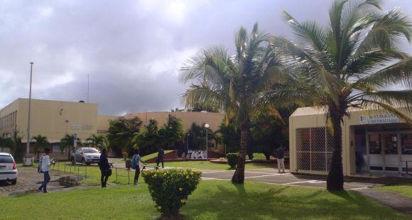 L'université des Antilles et de la Guyane - pôle Martinique - novembre 2014