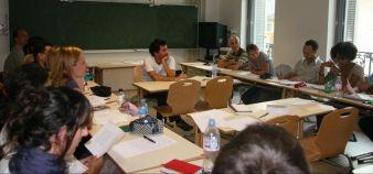 De futurs enseignants en formation à l'Espé d'Aix-Marseille. //©Espé Aix-Marseille