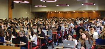 Les universités accueilleront 170.000 étudiants de plus pendant le prochain quinquennat. //©Camille Stromboni
