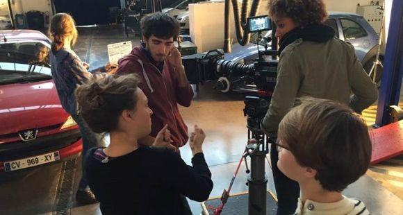 Atelier pris de son à la CinéFabrique.
