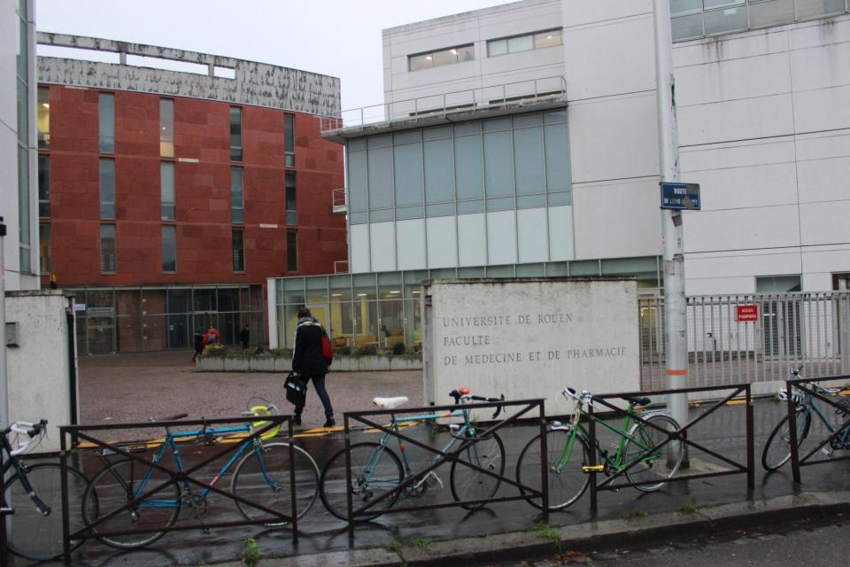 Campus santé de l'université de Rouen //©Delphine Dauvergne
