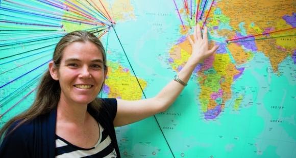 Daphne Koller, cofondatrice de Coursera