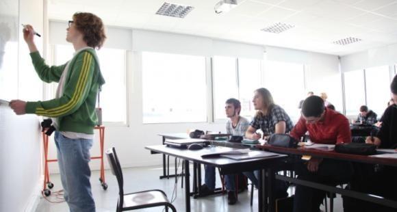 Cours de TD à l'université Bretagne occidentale (UBO)