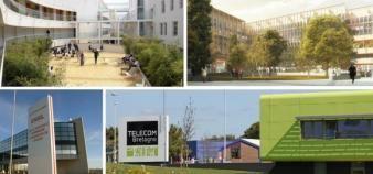 Le 1er janvier est une fois de plus marqué par un certain nombre de fusions et de rapprochements d'établissements. //©Novancia / Grafton Architects / Télécom Bretagne / Ensil /