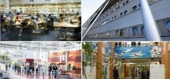 Les diplômés d'écoles de commerce sont, globalement, de plus en plus satisfaits de leur formation. //©Grenoble EM / Rennes SB / Neoma / Toulouse BS