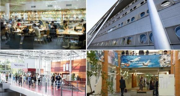 Ecoles de commerce : Grenoble EM, Rennes SB, Neoma, Toulouse BS