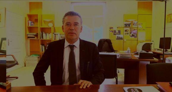 Pascal Olivard président de l'UBO © E.Vaillant - octobre 2013