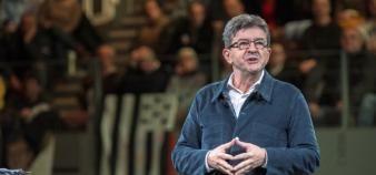 Le candidat de la France insoumise vise le recrutement de 5.000 chercheurs, enseignants-chercheurs et personnels techniques en trois ans minimum. //©Herve RONNE/REA