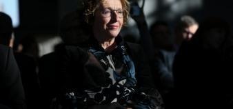 Muriel Pénicaud veut relancer l'apprentissage en donnant plus de poids aux branches professionnelles. //©HAMILTON/REA