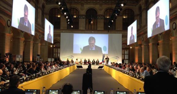La Conférence ministérielle européenne pour l'enseignement supérieur de Paris les 24 et 25 mai 2018 a accueilli 69 ministres venus du monde entier.
