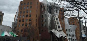 Le Ray et Maria Stata Center au MIT //©Sylvie Lecherbonnier