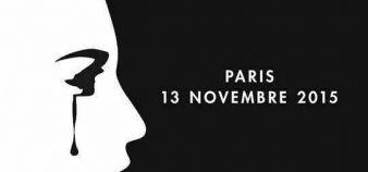 Visuel qui circule sur les réseaux sociaux en hommage aux victimes des attentats du 13 novembre 2015. //©Capture d'écran