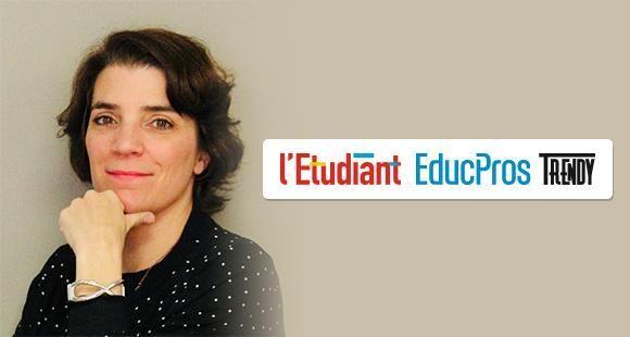 Ariane Despierres-Féry, directrice de la rédaction de l'Etudiant