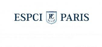 Associée à l'agence Meanings, l'ESPCI Paris a dévoilé le 9 juin 2016 son nouveau logo. //©ESPCI Paris