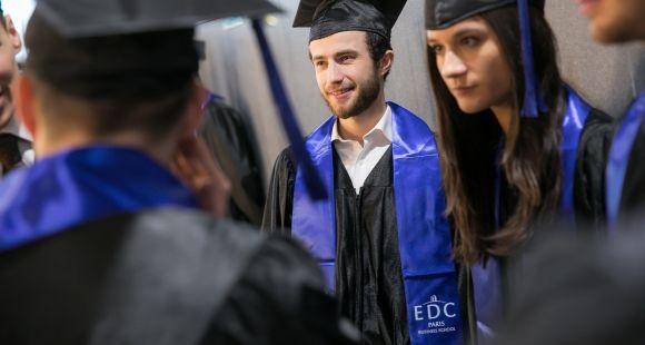 EDC business school, remise des diplômes 2017