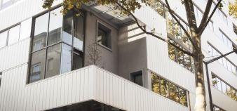 Le campus lyonnais de l'ESC Dijon, dans le quartier de la Confluence //©Etienne Gless